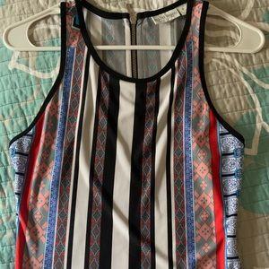 Bisou Bisou racerback maxi dress